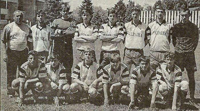 Перший успіх українського футболу