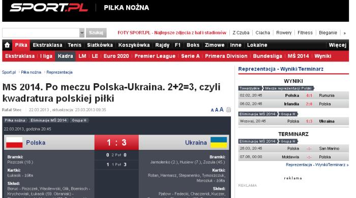 Польша - Украина. Обзор польской прессы