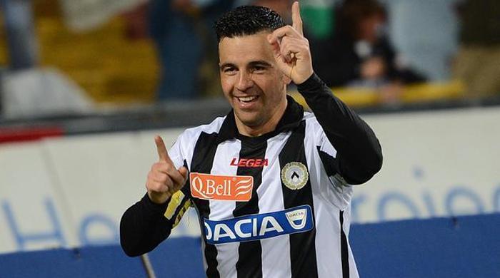 Антонио ди Натале вошёл в десятку лучших снайперов Серии А