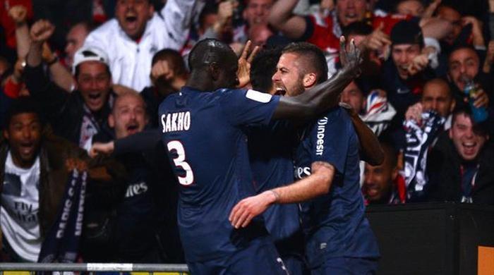 """""""Лион"""" - """"Пари Сен-Жермен"""" 0:1. Чемпионы!"""