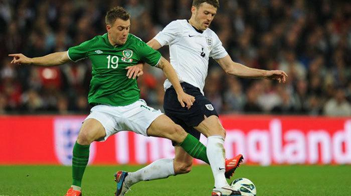 Контрольный матч. Англия - Ирландия 1:1. Британская ничья