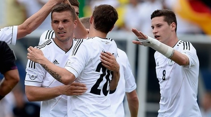 Контрольный матч. Эквадор - Германия 2:4. Забит самый быстрый гол в истории бундестим!