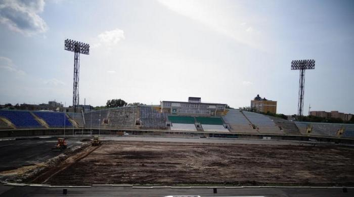 """Стадион """"Ворскла"""". Реконструкция в разгаре (+ Видео)"""