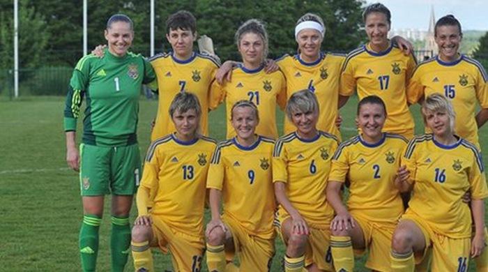 Жіноча збірна України зіграла товариський матч з Бельгією