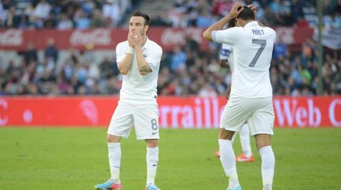 Контрольный матч. Уругвай - Франция 1:0. Укус за пять минут