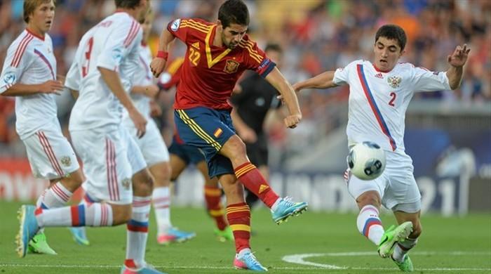 Евро-2013 (U-21). Испания - Россия 1:0. Тому назад одно мгновенье в сем сердце билось вдохновенье