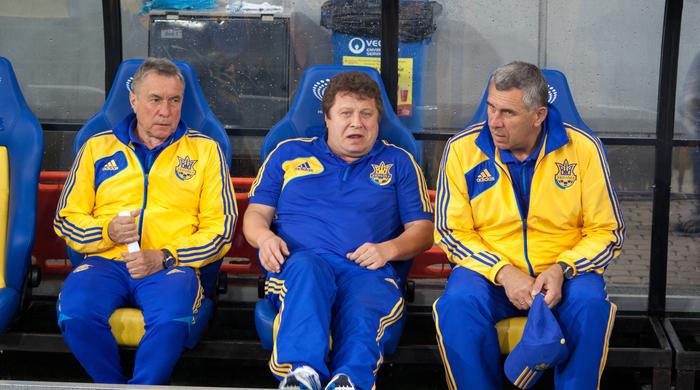 Тренировка сборной Украины: Хачериди не тренировался, а Ракицкий и Селезнев ждали дождя