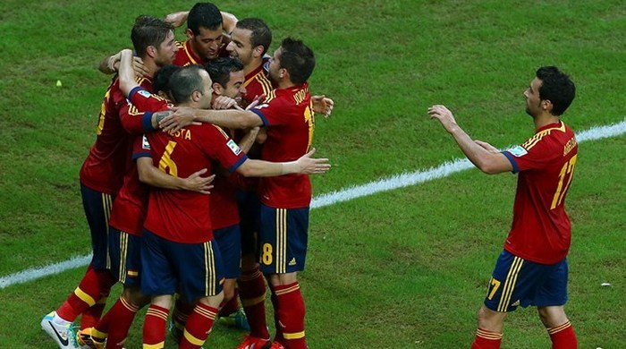 Кубок Конфедераций. Испания - Уругвай 2:1. А был ли соперник?