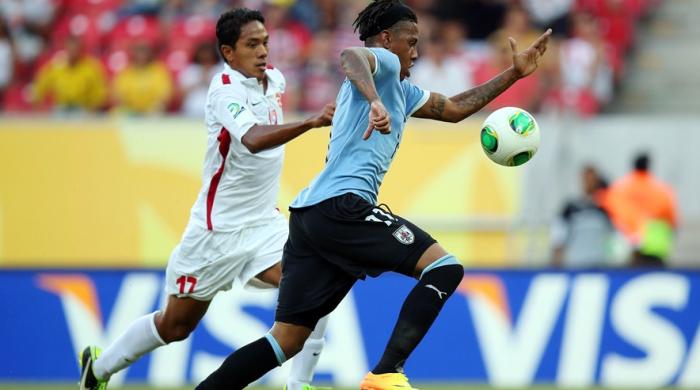 Уругвай - Таити 8:0. Это уже закончилось?..