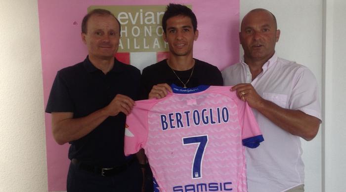 """Факундо Бертольо: """"Мне очень приятно, что главный тренер рассчитывает на меня"""""""