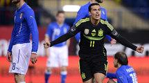 Контрольный матч. Испания - Италия 1:0. Под свисточек Арановского