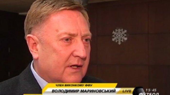 """Владимир Мариновский: """"Думаю, пора сажать за """"договорняки"""""""