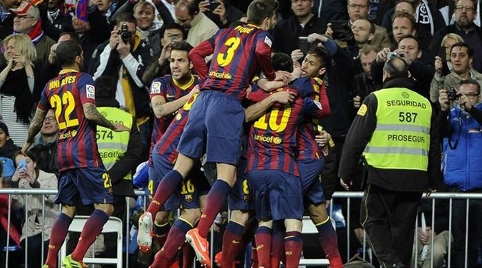 """""""Реал"""" - """"Барселона"""" 3:4. Видео"""