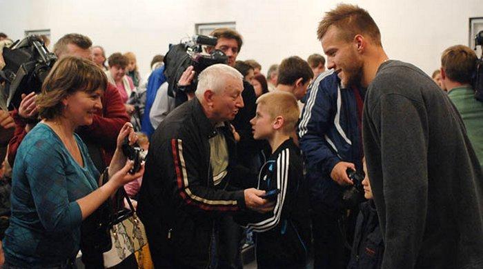"""""""Динамо"""" провело встречу с детьми, пострадавшими от последствий Чернобыльской катастрофы"""