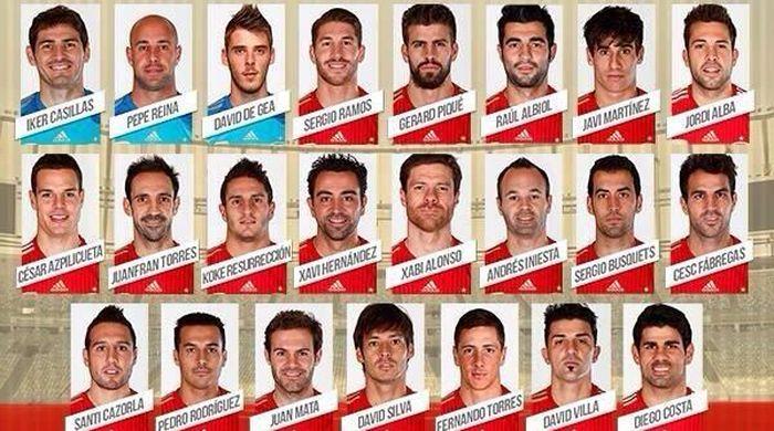Диегу Коста вошел в окончательный состав сборной Испании на ЧМ-2014