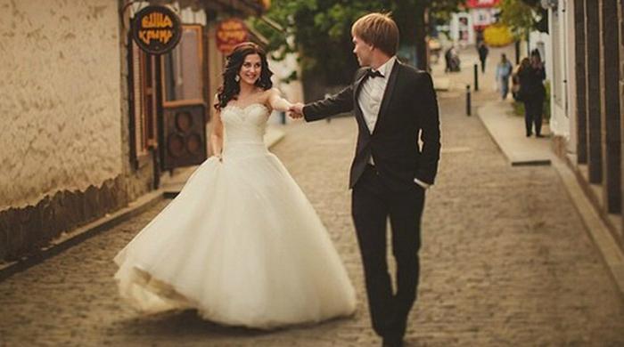Александр Караваев отгулял свадьбу в Крыму (+ фото)