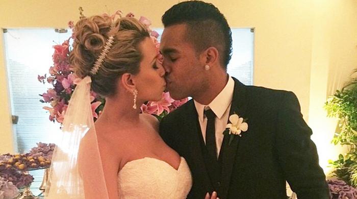 Алекс Тейшейра женился!