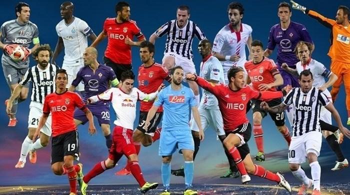 УЕФА назвала символическую сборную Лиги Европы