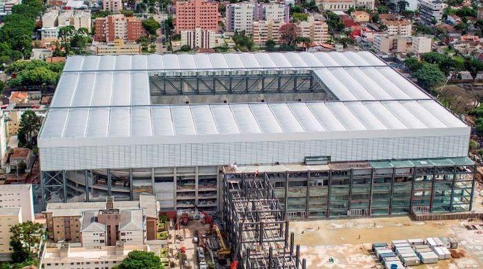 Стадион в Куритибе до сих пор не готов