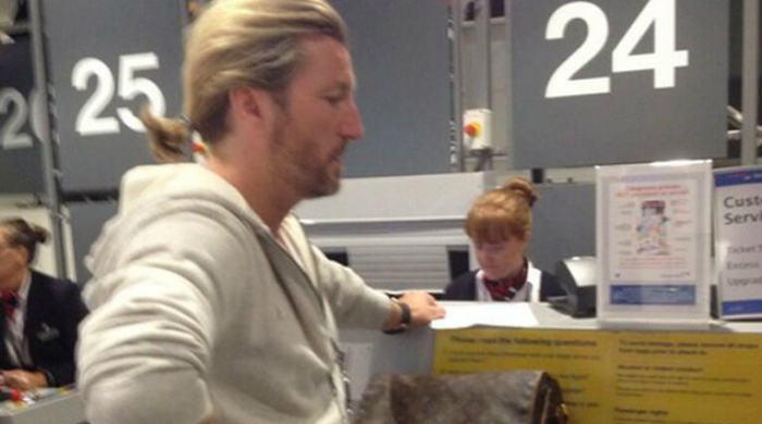 Футболист пытался попасть в Бразилию по паспорту жены. Фото