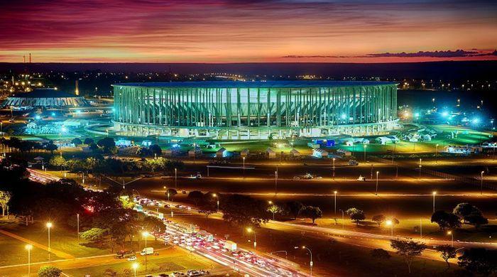 Национальный стадион. Бразилиа