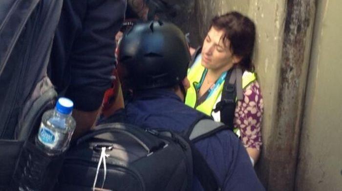 Две журналистки CNN ранены в ходе беспорядков в Сан-Паулу перед открытием ЧМ-2014