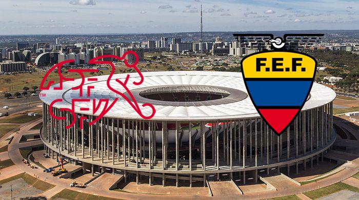 Швейцария - Эквадор. Анонс матча