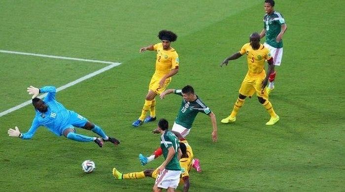 Мексика - Камерун 1:0. Полный матч. Видео