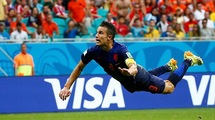 """Робин ван Перси: """"Первый мяч в ворота Испании - лучший в моей карьере"""""""