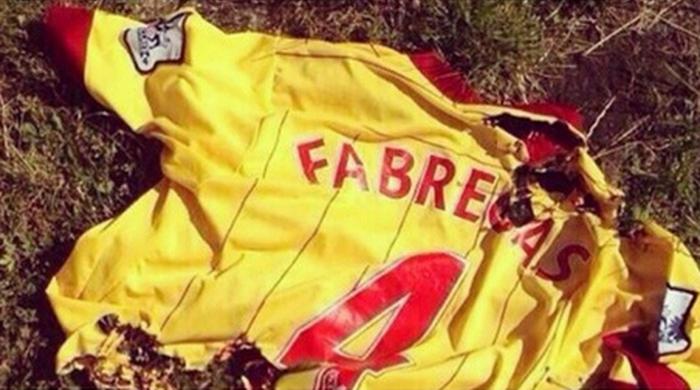 В Испании и Англии разгневанные фанаты жгут футболки Фабрегаса (+ Фото)