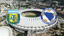 Аргентина - Босния и Герцеговина. Прямая трансляция. Видео