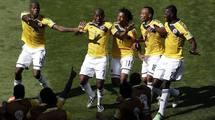 Колумбия - Уругвай 2:0. Видео