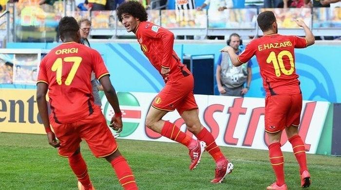 """Бельгия - Алжир 2:1. Бельгийские джокеры бьют """"лис пустыни"""""""