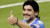 """Диего Марадона: """"Аргентина, не играя хорошо, контролировала матч"""""""