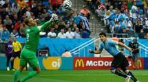 Уругваю хватило 220 передач, чтобы обыграть Англию