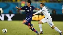 "Япония - Греция 0:0. Грецкий орех для ""Синих самураев"""