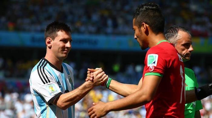 Аргентина - Иран 1:0. Фактор Месси