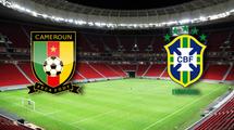 Камерун - Бразилия 1:4. Видео