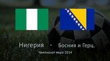 Нигерия - Босния и Герцеговина 1:0. Видео
