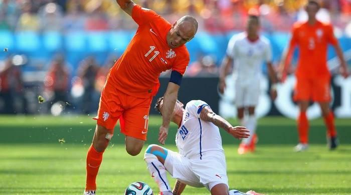 Нидерланды - Чили 2:0. Джокеры ван Гала