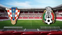 Хорватия - Мексика 1:3. Видео