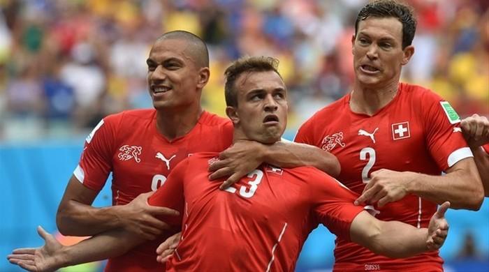 Гондурас - Швейцария 0:3. Шакири решает