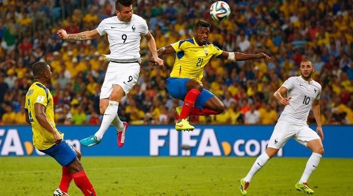 Эквадор - Франция 0:0. Симпатичные нули