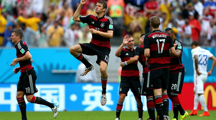 США - Германия 0:1. Клинсманн и Лев снова вместе