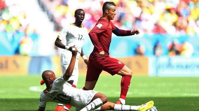 Португалия - Гана 2:1. Плачь, не плачь, а голы забивать надо