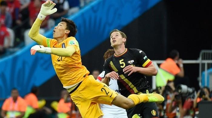 """Южная Корея - Бельгия 0:1. Максимальные """"Дьяволы"""""""