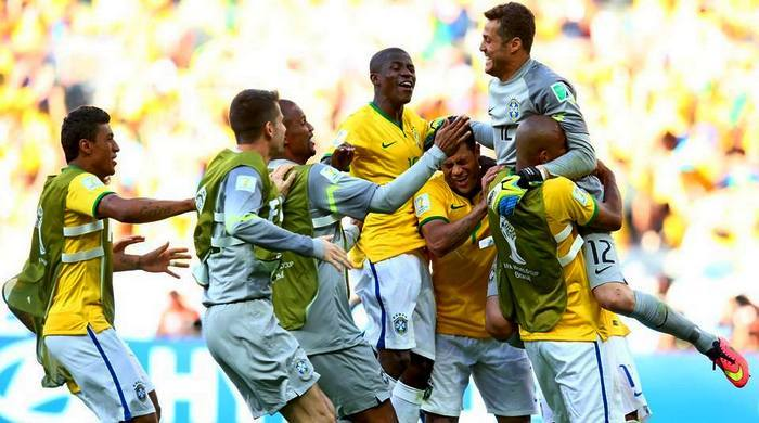 Бразилия - Чили 1:1, по пен. 3:2. Ave, Сезар!