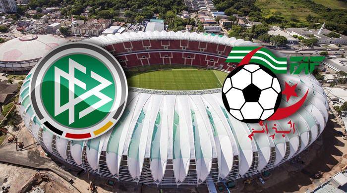 Германия - Алжир. Анонс матча