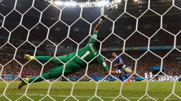 Коста-Рика - Греция 1:1, по пен. 5:3. Ну А ВАС, греки, я попрошу остаться...