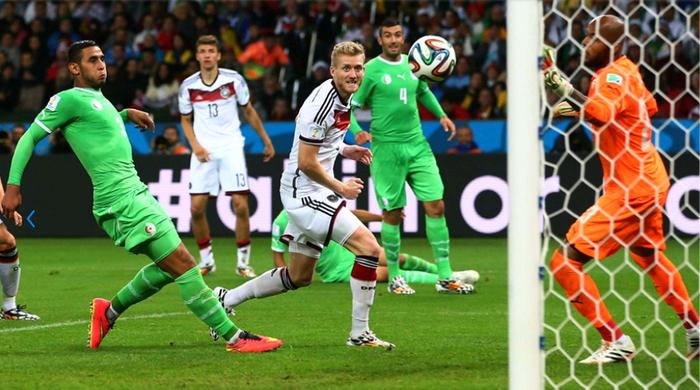 Германия - Алжир 2:1. Машинная мощь и лисичкины зубки